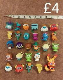 27x Moshi Monsters collection