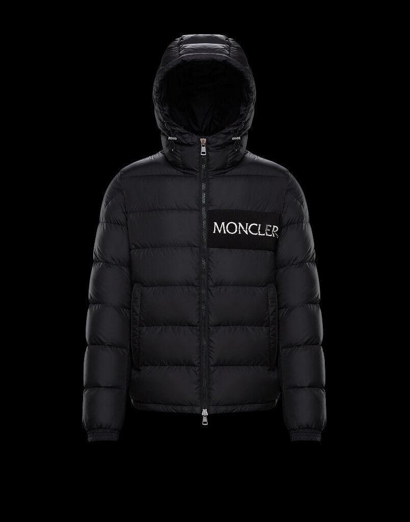 a07bc4e75ab7 Moncler Aiton Mens Size 2 (Medium) Black BNWT BRAND NEW
