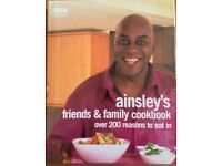 ainsley's friends & family cookbook over 200 reasons to eat in Hardback Book