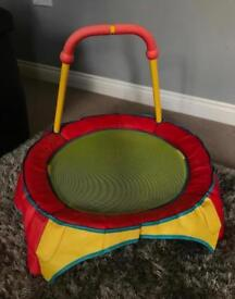 Baby toddler trampoline chad valley