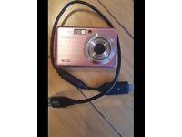 Pink Samsung Digital Camera