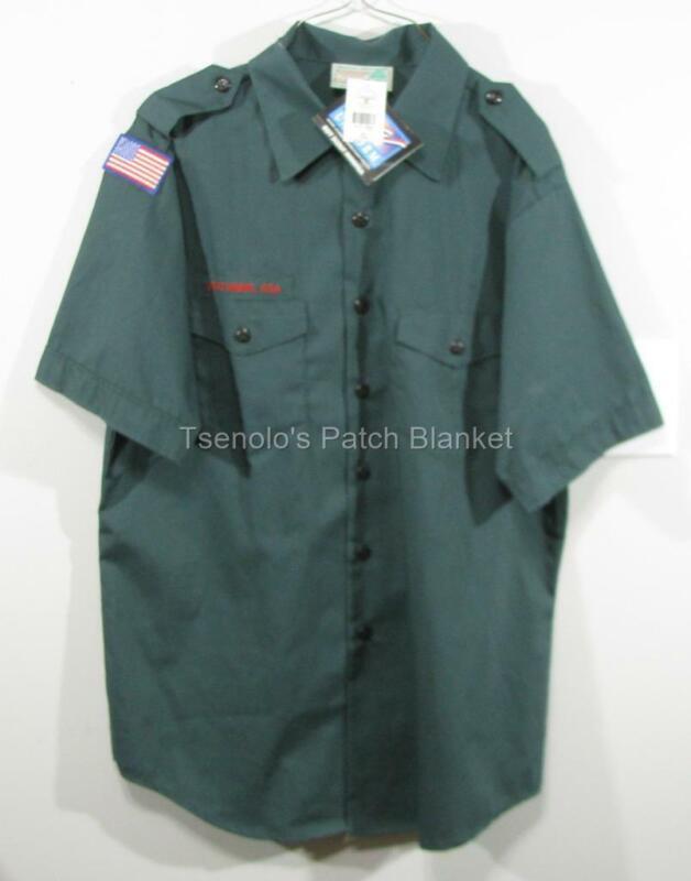 Venturing BSA New Uniform Shirt Size Adult Large SS FREE SHIPPING 089