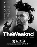 THE WEEKND Rogers Arena Wed, Dec 2 2015 7:30