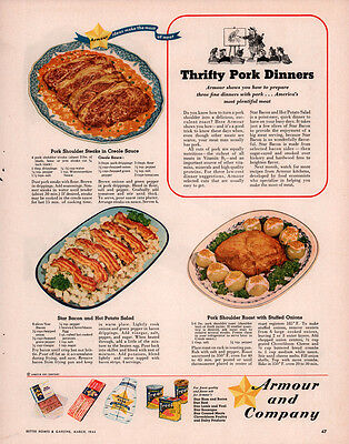 1944 AD YOUNGSTOWN  KITCHEN ANACONDA COPPER BRASS