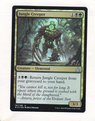 Magic: MTG: Rivals of Ixalan: Foil: Jungle Creeper