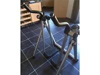 Kirkmuirhill Gravity walker exercise fitness strider Nordic walker LCDmonitor display equipment gym