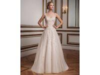 NEW A-line wedding dress Justin Alexander 8813 in size 16