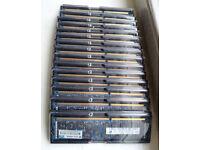 256GB KIT 16 X 16GB HP ENTERPRISE PN#:672612-081 DDR3-1600MHz ECC RAM MEMORY
