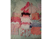 Used Baby Girls Clothes for sale - 0-6 months
