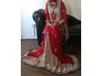 asain bridal dress