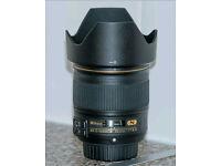 nikon afs 28mm f1.8g nano coated lens