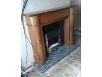 Fire surround and harth