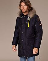 AUTHENTIC MEN PARAJUMPERS NAVY KODIAK PARKA SIZE XL SLIM FITTED