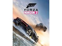 FORZA HORIZON 3 Game for XBOX One & PC 25 DIGIT Microsoft Key