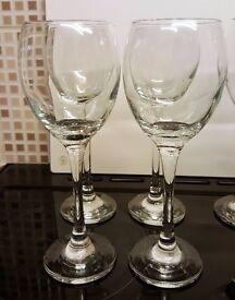 Glassware - 4 x Small Wine Glasses