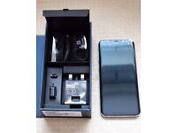 SAMSUNG GALAXY S8 ,64GB BLACK,FACTORY UNLOCKED,BOXED AS NEW