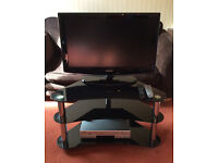 """Samsung 31"""" TV with Stand and DVD Player"""