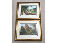 Two x Ron Beaton Professionally Framed Prints