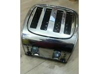 Silver colour toaster for sale