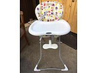 SOLD Graco highchair £5