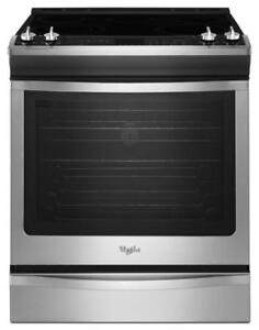 30electric stove, convection, front-control, 6.2 cu. ft., Whirlpool, Showroom