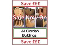 4x4 Garden Sheds, Summer a Houses, FREE DELIVERY & FREE INSTALLATION ( High Quality & Great prices)