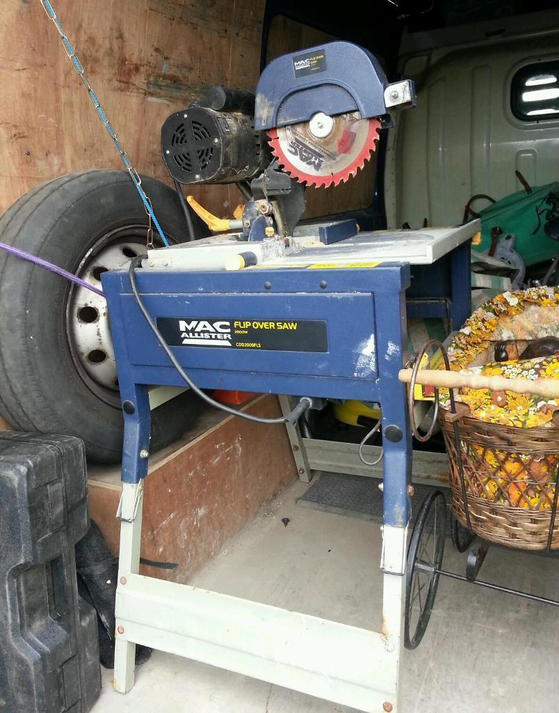 Macallister Flip Over Table Saw In Hartlepool County
