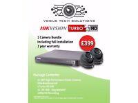 CCTV 2/4/Custom Installation service (HikVision, Qvis)