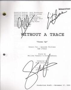 SIGNED WITHOUT A TRACE SCRIPT