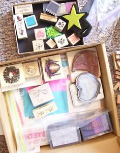 Assorted Stamps and Ink and stuff. REDUCED PRICE!