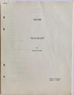 Original Story Outline for Star Trek - TOS [1968] Season 3 - Day of the