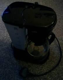 Filter coffee machine. Coffee pot.