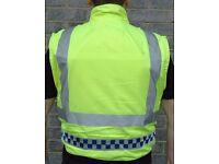 Ex police issue bulletproof vest