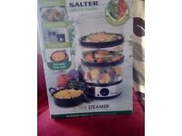 Salter electric steam cooker