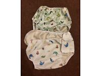 2 Motherease Large Nappy Wraps