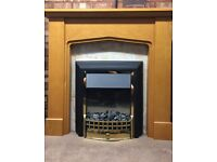 Dimplex Cheriton 2 kW Freestanding Electric Fireplace With Wooden Surround