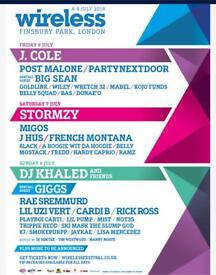WIRELESS TICKETS! SATURDAY AND SUNDAY!
