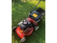 "Mountfield alloy deck self propelled lawnmower 21"" cut all serviced powerful 5hp Briggs engine mower"