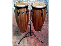 Gorgeous Latin Percussion Siam Walnut Congas