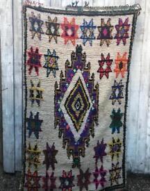 Hand woven Moroccan Rug.