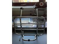 Vespa/ LML front and rear folding racks