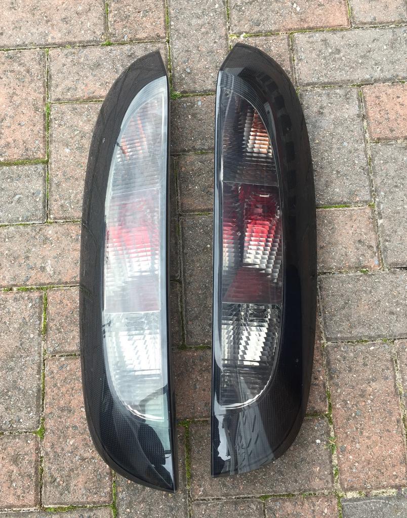 Vauxhall corsa c rear lights driver & passenger