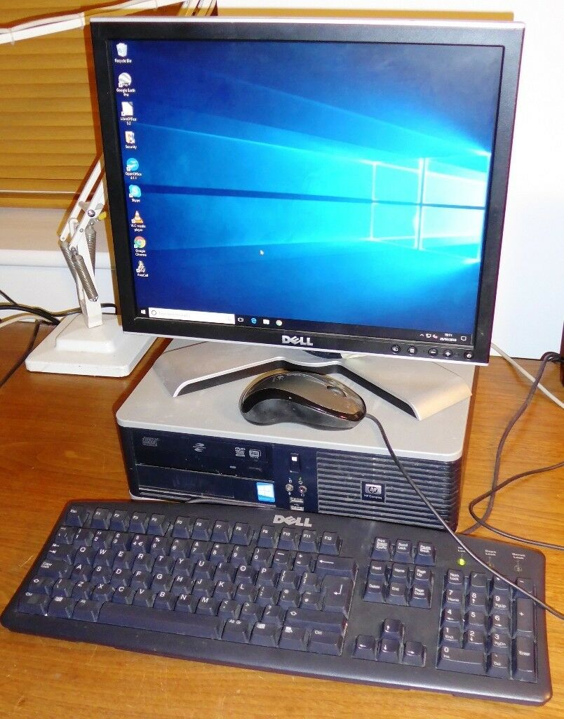 Modern Hp Desktop Pc For Home Office Use Windows 10 And Various  # Bureau Moderne Pour Pc