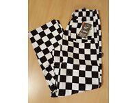Unisex chefs trousers - Le Chef - size M - £15