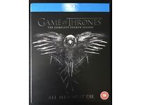 Game of Thrones Season 4, Season 5 and Season 6 Blu Rays