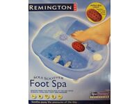 Remington New in Box Massage Foot Spa Great Gift for Ladies or Gents
