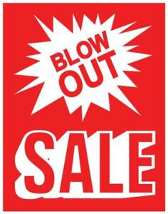 Display Signs, store signs, sale signs, closing signs, open signs, promotion signs, a frame sign,  clothing rack signs
