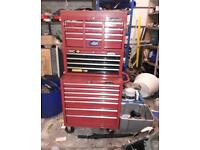 Large industrial tool box