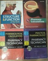 NSCC pharmacy tech. textbooks
