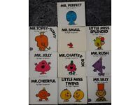 Ten Mr Men and Little Miss Books/book – from a smoke free home